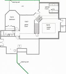 House Plan With Basement by 100 Small Home Plans With Basements Ranch House Plans