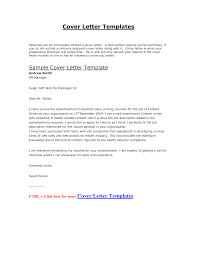 Cover Letter Examples For Internships  cover letter templates free     Melbourne Resumes