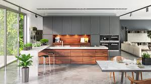 Modern Concrete Home Plans And Designs 40 Gorgeous Grey Kitchens