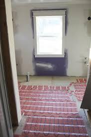 heated floors in the master bathroom thewhitebuffalostylingco com