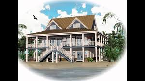 House On Pilings by Download Luxury Coastal House Plans Adhome