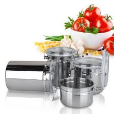 Stainless Steel Canisters Kitchen Popular Stainless Steel Canisters Buy Cheap Stainless Steel