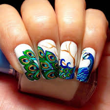 best 20 peacock nail designs ideas on pinterest peacock nails