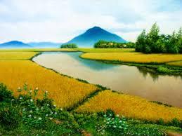 Núi Chóp Chài (tranh Đào Minh Hiệp)