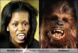of Michelle Obama.