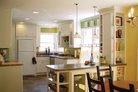 kitchen lighting design marble island ruffle seating cushion big