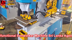krrass hydraulic multifunctional ironworker machine sri lanka