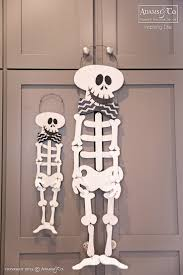 halloween skeletons decorations 161 best halloween decor images on pinterest happy halloween