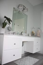 master bath 2 ada sink ikea hack ikea ideas pinterest