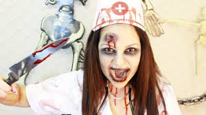 stunning halloween nurse makeup contemporary halloween ideas
