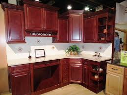 Kitchen Backsplash Cherry Cabinets by Backsplash Ideas For Cherry Cabinets Bar Cabinet
