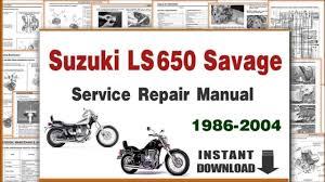 download suzuki ls650 savage service repair manual 1986 2004 pdf