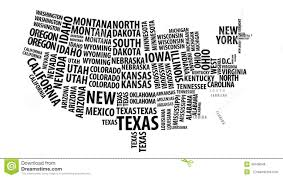 United States Map by Word Cloud Of The United States Map With Alpha Channel In 4k
