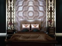 Home Interior Design Themes by Luxury And Futuristic Bedroom Design Ideas With 3d Wallpaper Dark
