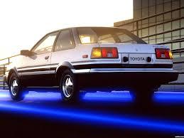 fotos de toyota corolla sr5 sport coupe ae86 1984 foto 2