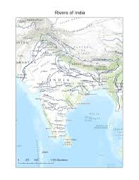 maps of india rivers     jpg PublishYourArticles net