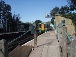 Fishbourne railway station