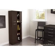 south shore smart basics 4 door storage pantry multiple colors