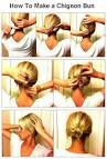آموزش تصویری بستن مدل مو ساده