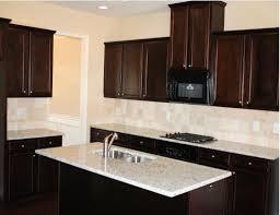 White Tile Kitchen Backsplash Tile Backsplash Ideas With Dark Cabinets Dark Birch Kitchen