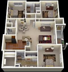 Best Plans For Apartments  Houses Images On Pinterest - Apartment house plans designs