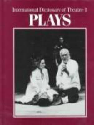 Cover art for International Dictionary of Theatre