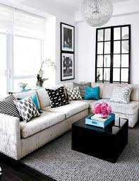 Black Leather Couch Living Room Ideas Marvelous Finishing Sectional Sofa For Small Living Room Perfect
