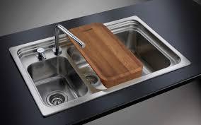 Double Kitchen Sink  Stainless Steel TRIPLO INVASOVQ - Foster kitchen sinks