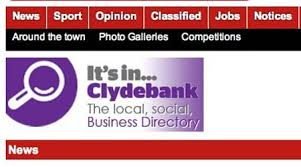 Graham Crawford is one of two senior appointments at Clyde Weekly Press as part of a re-structuring, with Emma Quigley the other. - ClydebankPost1-450x250