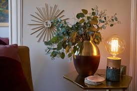 Target Copper Desk Lamp Emily Henderson On All Things Fall Design Entertaining Target U0027s