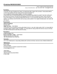 Sample Resume For Nurses Without Experience   Resume Templates For Us
