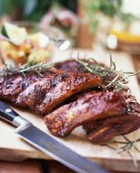 southern style spare ribs recipe with barbecue sauce