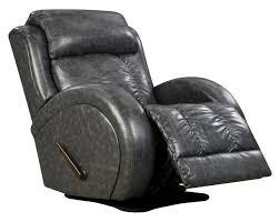 Leather Rocker Recliner Swivel Chair Swivel Rocker Recliner With Sport Style By Southern Motion Wolf