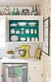 organization inspiration tidy kitchens apartment therapy