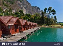 khao sok floating bungalows stock photos u0026 khao sok floating
