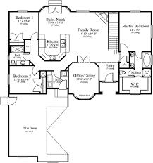 20 single story house plans 2500 sq ft 3 bedroom single