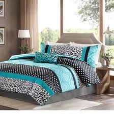 Black And White Daybed Bedding Sets Amazon Com Girls Bedding Set Kids Teen Comforter Turquoise Black