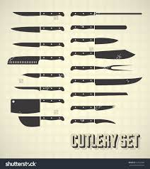 elegant kitchen knife set with their names knives jpg kitchen