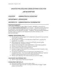 Resume Summaries Samples  resume examples  sample resume skills     happytom co Administrative Assistant Duties On Resume   resume summaries samples