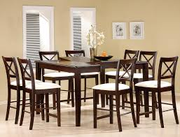 square arm tufted fabric dining room chairs oak solid cooper tall