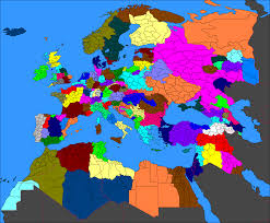 Europe After Ww1 Map by I Created A Scenario Where Germany Had Won Wwi Three More World