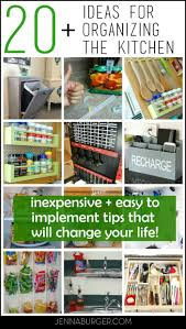 20 kitchen organizing ideas tips that will change your life