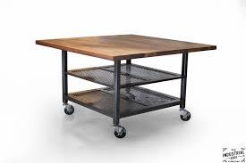 Iron Kitchen Island by Kitchen Island U2013 Real Industrial Edge Furniture Custom