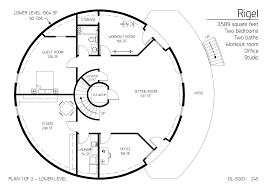 floor plans 2 bedrooms monolithic dome institute