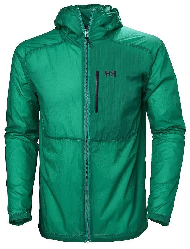 Helly Hansen Vana Windbreaker Jacket Pepper Green Medium 62839-471-M