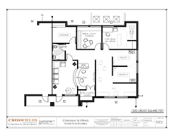 chiropractic office floor plan semi open adjusting and physical