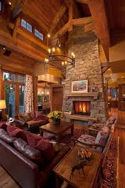 Lodge Living Room Decor by Always Loved These Types Of Homes They Have A Lodge Type Feel To