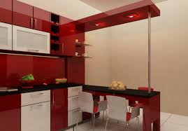 Red White And Black Kitchen Ideas Startling Kitchen Design Red And White Cabinets White Awesome