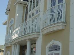 exteriors fancy french style balcony railings fence black