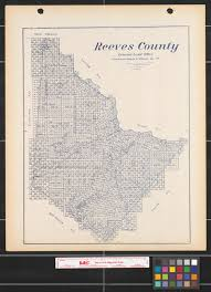 New Mexico County Map Reeves County The Portal To Texas History
